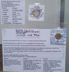 Ausstellungsstück-Sergi