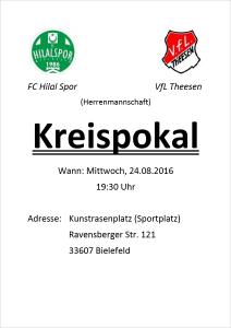 FC Hilal Spor Kreispokal Herren