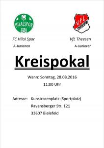 FC Hilal Spor Kreispokal Junioren